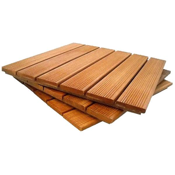 [DÉSTOCKAGE] LOT 12.32m2 de dalles de terrasse en bois: Bangkirai massif