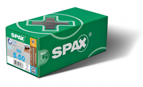 Boîte de Vis SPAX - 500 unités