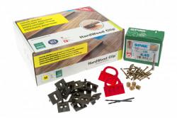 Clips de fixation invisibles pour lames de bois (Pack: 11m²)