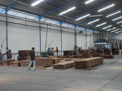 Sundeck usine Surabaya Indonésie
